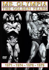 DVD Mr Olympia, The Golden Years