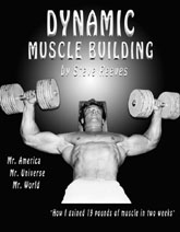 Dynamic Muscle Building, Steve Reeves