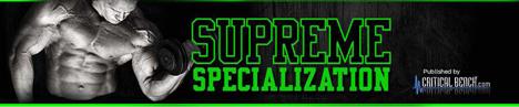 Supreme Specialization